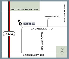 Map of OMS Location